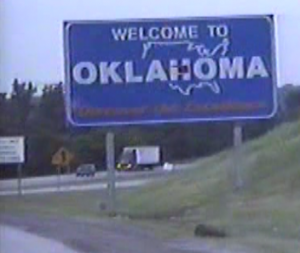 Oklahoma-Sign