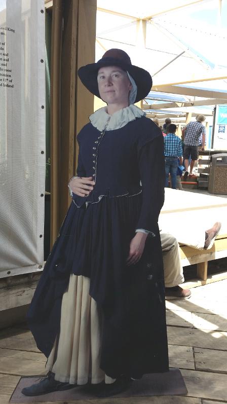 Mayflower-wax-lady