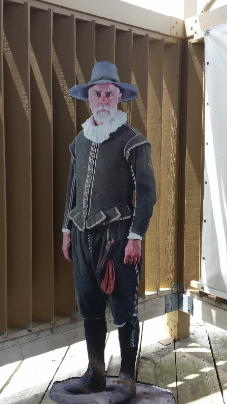 Mayflower-wax-man