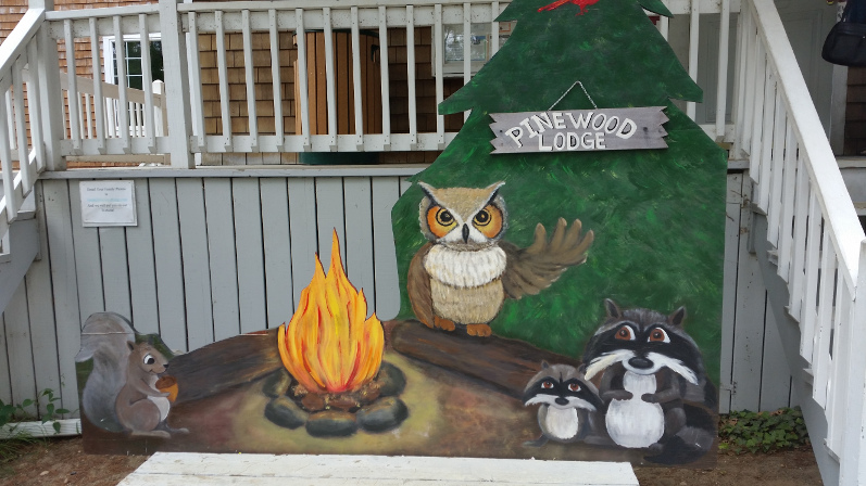Pinewood-Cartoon-Sign-in-front-of-office