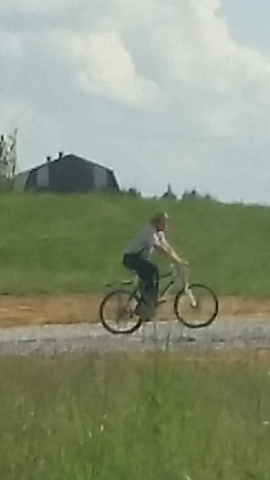 Mennonite-Bike-Rider