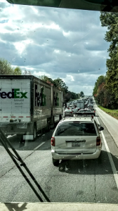Atlanta Typical I-20 traffic